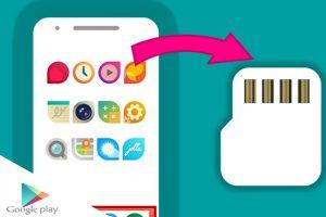 نحوه انتقال برنامه ها و فایل ها به کارت SD در Android