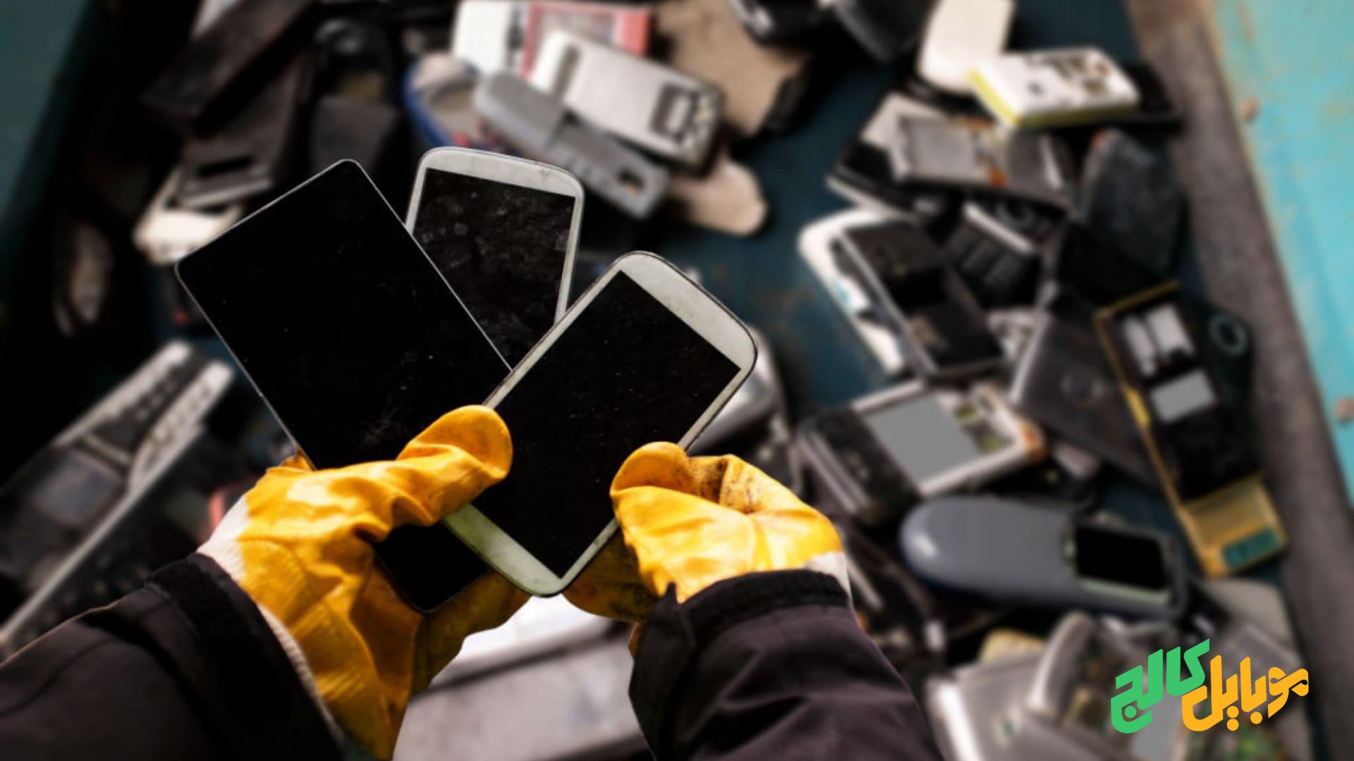 افزایش زباله های الکترونیکی
