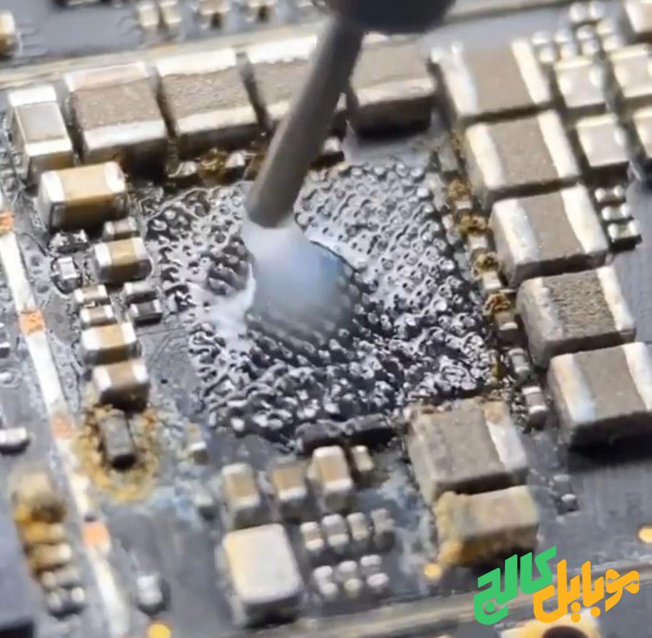 شابلون زدن تعمیرات موبایل